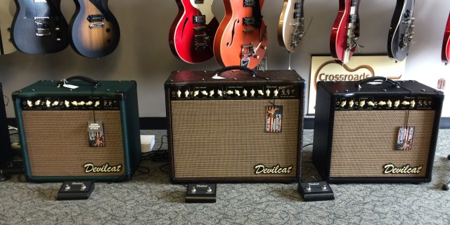New Tube Amps: DevilcatPosted by admin on Jun 5, 2014 in NEWSWe have brand new amps, just in! Crossroads Guitars is the newest authorized dealer for Devilcat Amplifiers, an American made boutique amplifiers company focusing on high-quality affordable tube amplifiers. All Devilcats are built in their…