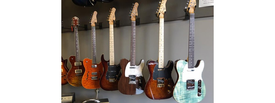 CGS now carries Michael Kelly Guitars!