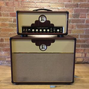 TopHat Supreme 16 Head & Custom 2×12″ Cabinet w/Celestion G12 Alinco Blues & Flight Cases